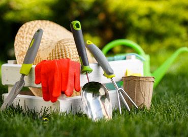 Les différents outils du jardinage